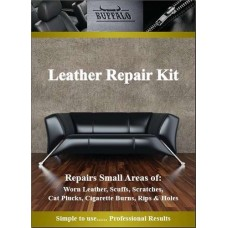 Leather Repair Touch Up Kit - For Furniture & Car Seats