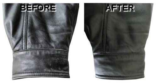 Restored Leather Jacket colour often is lost on leather jackets but we