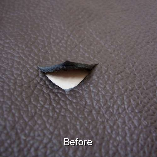 Leather Car Seat Patch Repair Kit
