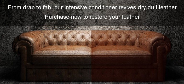 ... Restore A Full Interior From Drab To Fab, Our Intensive Conditioner  Revives Dry Leather ...