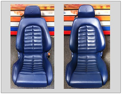 Car Seats Leather Repair Services - Preston, Lancashire and